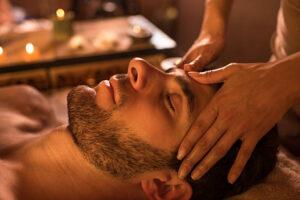 Антистрес-масаж тіла 1год + масаж голови 20 хв + стопи 25 хв