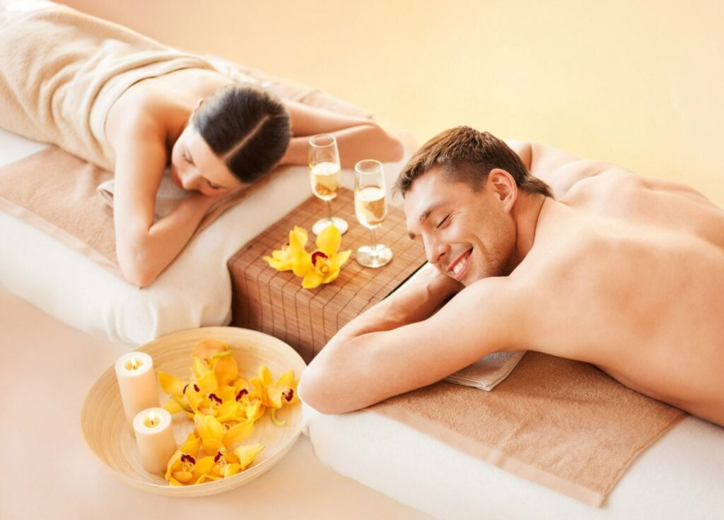 Spa for two: Paradise for two